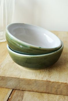 Made to order - A set of six custom bowls for your kitchen. £42.00, via Etsy.
