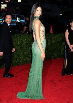 Kendall Jenner at the 2015 Met Gala