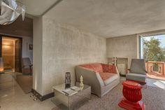 """""""Coconutrug Aria Aperta"""" rug G.T.Design collection, design Deanna Comellini.  © Loto AD Project – Hotel Punta Tragara, Capri ★★★★★"""