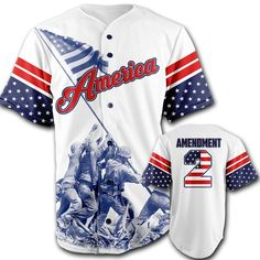 online shopping for Greater Half Baseball Jersey (White) Custom Amendment Baseball Jersey (Small-XXXXL) from top store. See new offer for Greater Half Baseball Jersey (White) Custom Amendment Baseball Jersey (Small-XXXXL) Veterans Flag, 360 Design, Baseball Jerseys, Hockey, Baseball Games, Baseball Uniforms, Basketball, Baseball Players, Come And Take It
