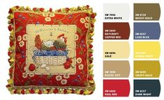 French Country Sherwin-Williams Colors | Paint colors from Chip It! by Sherwin-Williams | French country