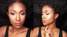 Makeup Tutorial | Bronze Bombshell | Nivea Creme | JasmineLaRae