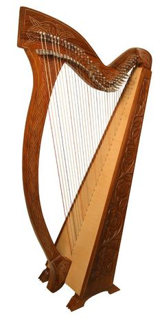 Though I own & play a Thormahlen Swan lever harp, which is a folk harp, someday I would also love to learn how to play a Celtic harp (which has the all metal strings and a very different yet even more beautiful sound; you also have to let your fingernails grow to play it properly...you need short fingernails for the folk harps)