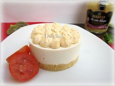 MINI-CHEESECAKE DE ATÚN CON MAYONESA DE MOSTAZA