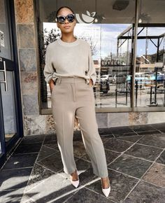 Business Casual Outfits, Professional Outfits, Classy Outfits, Chic Outfits, Fashion Outfits, Womens Fashion, Workwear Fashion, Black Girl Fashion, Work Fashion