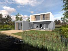 Broos de Bruijn architecten   Modern Villa Leerdam   new building