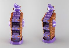 Milka - Chocolate display on Behance