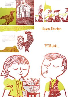 Helen Borten Illustration Heaven Part 3 Children's Book Illustration, Graphic Design Illustration, Sketchbook Inspiration, Childrens Books, Illustrators, Doodles, Sketches, Mid Century, Heaven