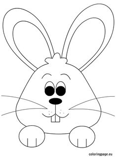 Easter Eggs Colouring Pages For Toddlers See More Bunny