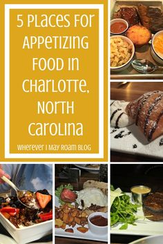 Charlotte, North Carolina is home to many fantastic restaurants. Foodies will agree that this city thrives on trendy culinary favorites and hand-crafted cocktails. Here are 5 of my favorite places for appetizing food in the Queen City.
