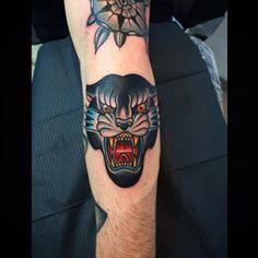 traditional black panther tattoo - Google 검색