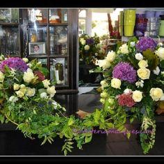 Describe tu pin...centros con hortensias ,rosas....