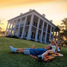 Plan an overnight stay at the beautiful Dunleith plantation home in the town of Natchez, MS