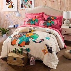 100% Cotton Cartoon Bedding sets
