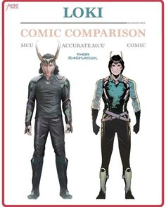 "4,107 Likes, 22 Comments - • Accurate.MCU • mcu fanpage (@accurate.mcu) on Instagram: ""• LOKI - COMIC COMPARISON 2.0 • I can't wait to finally see Loki again in Thor Ragnarok. His new…"""