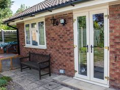 Beautifully suited to open up conservatories or to make a unique design statement within your home, our doors have a classic appearance with all the benefits of contemporary PVC-u double-glazing. Upvc French Doors, Open Up, Conservatory, Windows, Contemporary, Home, Design, Ad Home, Green Houses