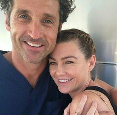 Ellen Pompeo Accused Of Getting Patrick Dempsey Fired On 'Grey's Anatomy' Due To Affair: Evidence Points To Otherwise Greys Anatomy Derek, Greys Anatomy Funny, Greys Anatomy Cast, Grey Anatomy Quotes, Anatomy Humor, Grey Quotes, Derek Shepherd, Meredith Grey, Ellen Pompeo Patrick Dempsey