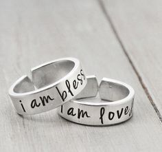 Hey, I found this really awesome Etsy listing at https://www.etsy.com/listing/161426952/mother-daughter-rings-jewelry-for