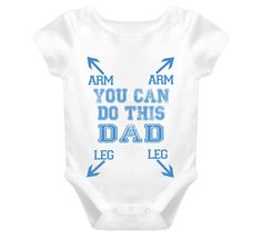 You can do this Dad Baby One Piece For all the new Dad's out there - a little help and encouragement. Great Gift idea for new parents baby showers Christenings. This design is for a baby boy. Funny New Dad Gifts, Baby Gifts For Dad, Dad Baby, Babyshower, New Dads, Baby Time, Funny Babies, Baby Boy Shower, Diaper Shower