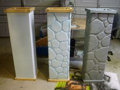 Building Fence Columns for Halloween. by Bliss Massacre, via Flickr