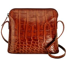 Buy Tan O.P OSPREY Basel Small Mock Croc Across Body Handbag from our Handbags, Bags & Purses range at John Lewis & Partners. Mini Backpack, Leather Backpack, Basel, Handbags Online, Travel Bag, Crocs, Purses And Bags, Stuff To Buy, Beautiful
