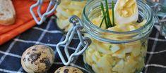 Vajíčkový salát s cottage sýrem - VařímeDobroty.cz Healthy Family Meals, Easy Healthy Recipes, Easy Meals, Egg Recipes, Salad Recipes, Snacks Recipes, Sour Cream Cucumbers, Deviled Egg Salad, Ideas Para Fiestas
