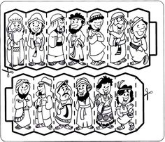 joseph sold into slavery coloring pages - Google Search