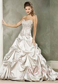 Robe de mariage avec corset