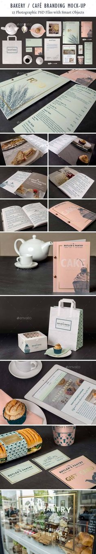 Bakery Cafe Branding Mockup. Download here: http://graphicriver.net/item/bakery-cafe-branding-mockup/15352311?ref=ksioks