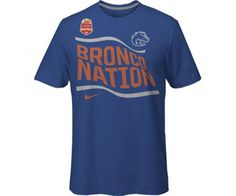 Represent Bronco Nation for the Fiesta Bowl! Tee Fiesta Bowl Bronco Nation | Boise State Bronco Shop #BoiseState #BroncoFiesta #ATF #VIZIOFiestaBowl