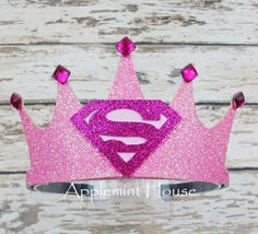 Baby First Birthday Girl Crowns Trendy Ideas Princess Party Favors, Disney Princess Party, Cinderella Party, Diy Birthday Crown, Baby Girl Birthday, Birthday Crowns, Turtle Birthday, Turtle Party, Superman Birthday