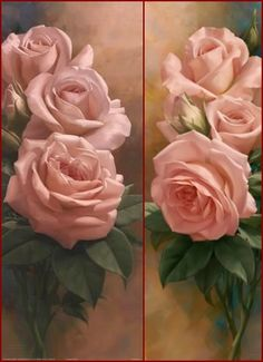Roses - romantiques ! By Igor Levashov ——  horz