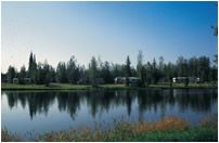River's Edge Park, Fairbanks, AK, where we camped for the summers.