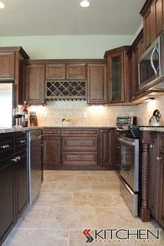 Bristol Maple Chocolate Glaze Photo Gallery | Cabinets.com By Kitchen  Resource Direct