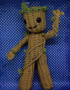 Baby Groot Little Groot amigurumi PDF crochet pattern inspired