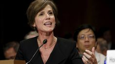 US President Donald Trump's firing of acting Attorney General Sally Yates has prompted mixed reactions online, with many supporting her, others against, and one simply hoping she robs stationery from the Department of Justice. Us Attorney, Attorney General, Donald Trump Fired, Trump Immigration, Jeff Sessions, National Security Advisor, Department Of Justice, Yachts, Places