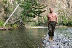 Russia Sexy Putin - AP Photo/RIA-Novosti, Dmitry Astakhov, Presidential Press Service