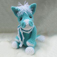 Cute Horse crochet pattern
