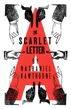 Classic Book Covers Reinvented, The Scarlet Letter