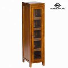 €Display Stand Mindi wood shelves) x 40 x 30 cm) - Serious Line Collection by Craftenwood Glass Cabinet Doors, Sideboard Cabinet, Credenza, Hallway Furniture, Home Furniture, Furniture Design, Vaisseliers Vintage, Tall Cabinet Storage, Locker Storage