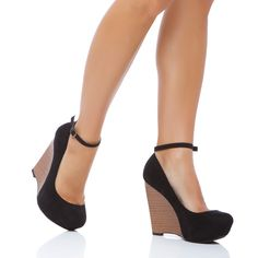 #black #wedge
