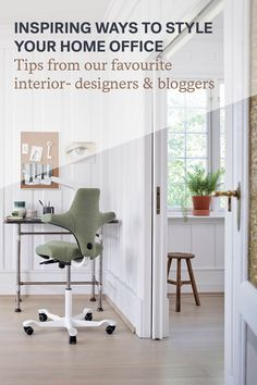 With a few simple ideas, it's easy to inject some personality into your personal home office, whilst maintaining a productive workspace, when working from home. Large Home Office Furniture, Commercial Office Furniture, Home Office Chairs, Colorful Furniture, Large Bookshelves, Office Cubicle, Adjustable Height Desk, Workspace Design, Office Storage
