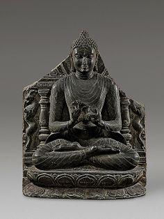Buddha Preaching the First Sermon at Sarnath