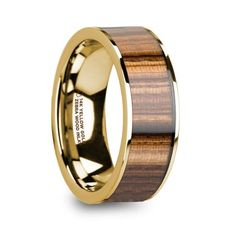 ASH WOOD RING 8mm Galaxy Sky Inspired Ash Wood Ring with Stainless Steel Band