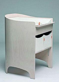 Βρεφική αλλαξιέρα Leander White Wash