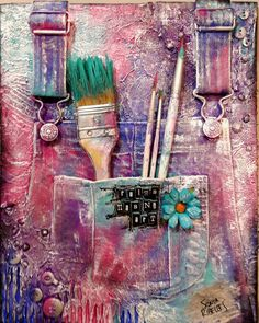 """Art has no rules"" Acrylic mixed media canvas cm. Mixed Media Canvas, Art Day, Art Gallery, Art Museum, Fine Art Gallery"