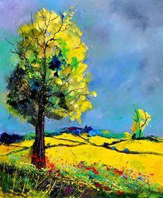 """Saatchi Online Artist Pol Ledent; Painting, """"landscape 563160"""" #art"""