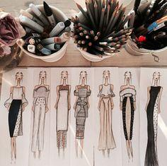 Página Inicial / Twitter Fashion Drawing Tutorial, Fashion Figure Drawing, Fashion Drawing Dresses, Fashion Illustration Dresses, Fashion Illustration Tutorial, Dress Design Sketches, Fashion Design Sketchbook, Fashion Design Portfolio, Fashion Design Drawings