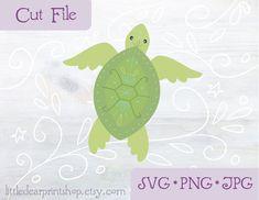 Baby Shower Garland, Silhouette Png, Ornaments Design, Printable Paper, Fantasy Artwork, Sea Creatures, Party Time, Original Artwork, Turtle
