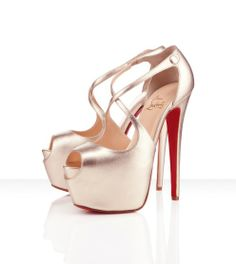 Christian Louboutin Exagona 160mm in Platine.  Also available in Black and Beige.  Definitely hunting down a pair for my collection :)